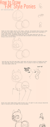 Tutorial: How to Draw FiM Style Ponies by Musapan