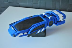 Mass effect C-Sec Hover Car by darth667