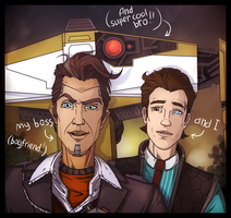 TFTB: Handsome Jack|Rhys by maryallen138