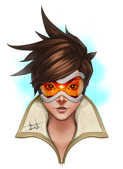 Tracer - Overwatch by RoyalAstray