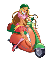 Flora Motorcycle by Kylizzl