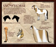 Snowhorse - Breed reference by Nileiris