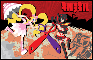 Kill La Kill- Halves of a Scissor by CaptnPenguin