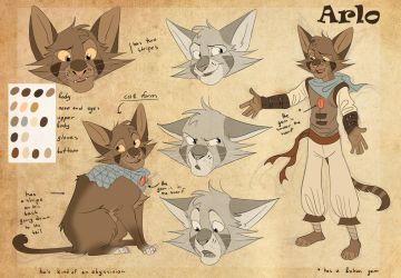 Arlo ref by Darkpaw2001