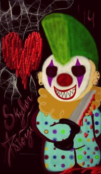 Louney the Clown' by heartpolkadotts