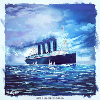 Lusitania's Final Day by Eliott-Chacoco