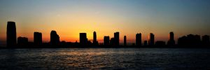 New Jersey Sunset - Panorama by hmdll