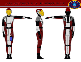 Atlantis G.F.A.  flight suit by bagera3005