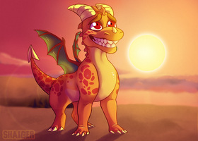 Spyro - I have no idea whatcha talkin' bout by Shaiger