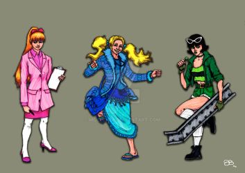 Power Puff Women by Mulechee