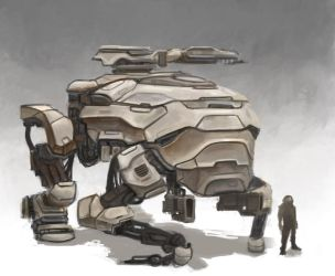 Mech by JuicyBrain