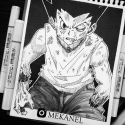 Gon Freecs/ Hunter X Hunter - Mekanel by Mekanel