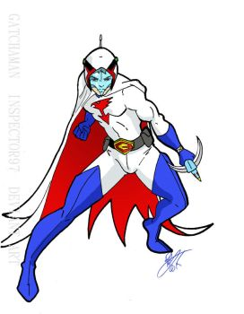 G1 Gatchaman by Inspector97