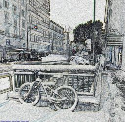 Snow in Rome - Neve a Roma by Book-Art