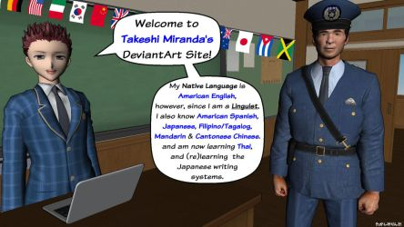 Takeshi Miranda Infographic by takeshimiranda