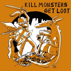 Kill Monsters Get Loot by larsony