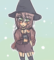 Another Witch by corinnezz