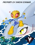 Beach Ghouls - Shark Surfing by PlayboyVampire