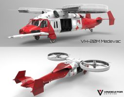 VH-22M Medevac by VindiCaToR285