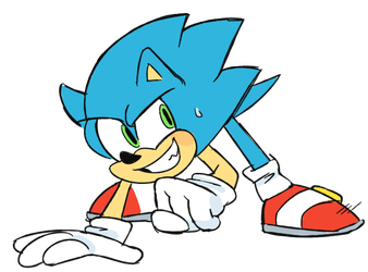 just a sonic by cherucat