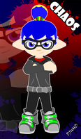 Splatoon - inkling boy (Chaos) by DJUMD