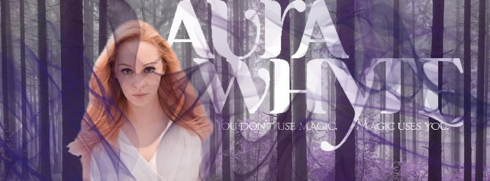 Character Banner - Aura Whyte by AndreaWinterbrooke