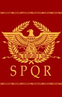 Roman Eagle Design by Erebus-art