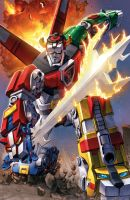 Classic Voltron by Dan-the-artguy