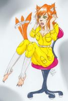 WTF Am I A Cat ? April - Request (Ninja Turtles) by ALittleLady