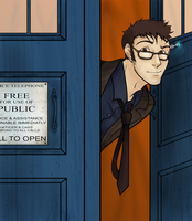 Trust me, I'm the Doctor by blueToaster