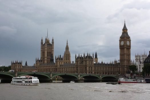 Palace Of Westminster by Barefooter73