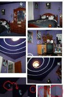My Nightmare Room with ghosts by Terrauh