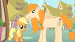 Pear Butter and her daughter AppleJack by DuskBelle2310