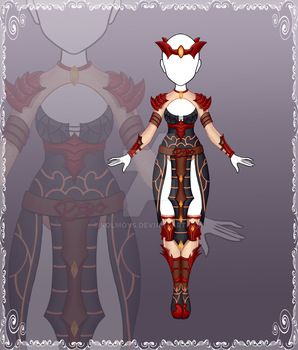 [Close] Adoptable Outfit Auction 79 by Kolmoys