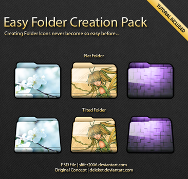 Easy Folder Creation Pack by Slifer2006