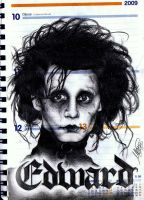 Edward Scissorhands by maga-a7x