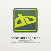 DeviantART Logo Icon by TheRyanFord