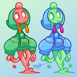 Slime Girl by The-Knick