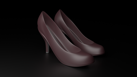 High heel women shoes 01 by KelimelerYeterli