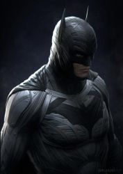 dark knight portrait by sancient