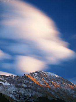 Fleeting Clouds by photogrifos