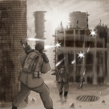 Wh40K: Street Fighting by StugMeister