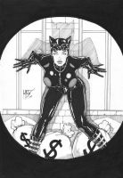 Leo Matos: Catwoman by comiconart