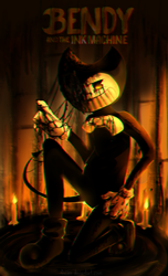 Bendy and the ink machine by AniLLem