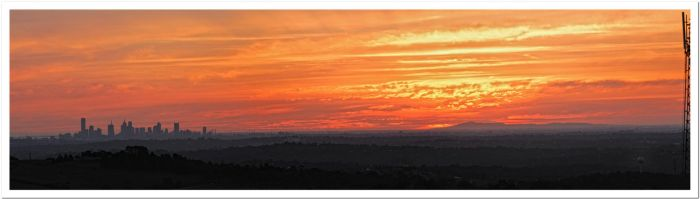 Melbourne Sunset by arthurking83