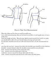 Measurement Chart and Tutorial by nolwen
