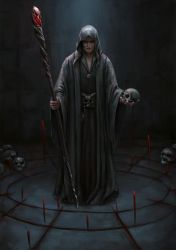 necromancer by Kceon