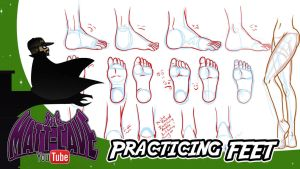 Draw with Me 07 Practising Feet by mattwilson83