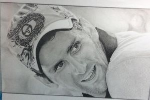 Novak Djokovic by AdamWien
