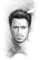 Tony Stark by johnbecaro